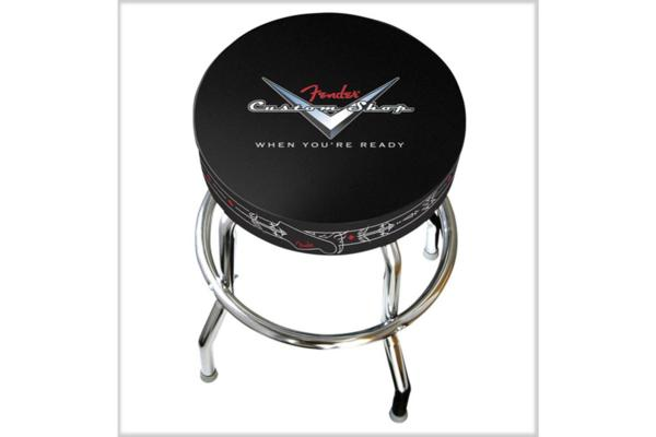 Fender barstool sgabello 24 in custom pinstripe 0990230020