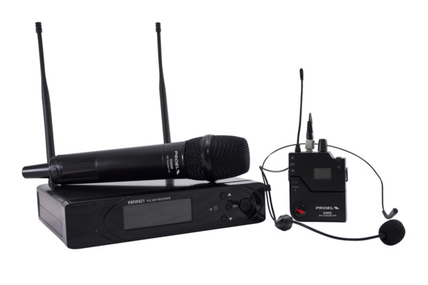 RMW821M - PLL UHF Wireless Handheld Microphone System